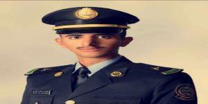 ناصر العمري يحتفي بتخرجه من كلية الملك خالد العسكرية