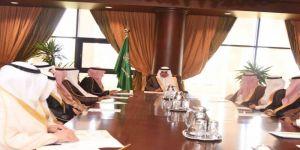 امير تبوك يترأس اجتماع جمعية الملك عبدالعزيز