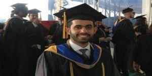 زياد الحصيني الأول مع درجة الشرف من جامعة سفك الأمريكية في المحاسبه