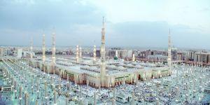 ضيوف الحرمين الشريفين من الزوار والمعتمرين في الحرم النبوي الشريف و لقاءات صحيفة بث