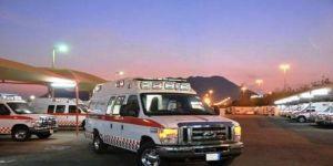 مصرع وإصابة 5 بتصادم مروع في الطائف