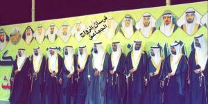قبيلة اليمنه من عنزه تقيم حفل زواج جماعي  لـ 12 شاب من أبنائها