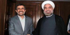 أحمدي نجاد يدعو حسن روحاني للتنحي عن الرئاسة