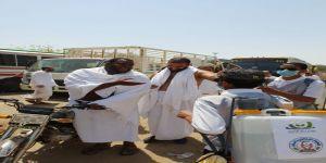 رشتنا محبتنا.. مبادرة جمعية أم القرى في خدمة ضيوف الرحمن