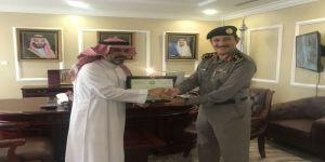 مدير مكافحة المخدرات بمنطقة مكة المكرمة يكرم العقيد المنشاوي