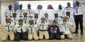 عضو الغرفة التجارية الصناعية بمكة يكرم 50 من كشافة شباب مكة المكرمة