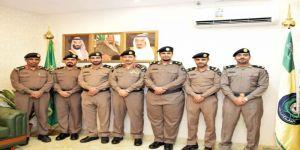 مدير مدني مكة يقلد ضباط رتبهم الجديدة