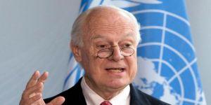 دي ميستورا يعلن تخليه عن مهمته الأممية بسوريا في نوفمبر
