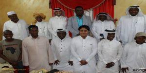كشافة شباب مكة تحتفي بآل زعير عضو مفوضية الأفلاج