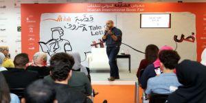 مراد يعرض إحتراف الكتابة الروائية على الجمهور الدولي للكتاب