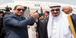 السيسي في رسالة إلى الملك سلمان: مصر ملتزمة بأمن الخليج