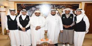 ضمن مبادرة شكراً لكم .. مركز حي العمرة يُكرم مدير تعليم مكة
