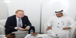 الناشر توماس قولدنيتس في زيارة للجنة الإعلامية: أعجبني التنظيم والمجتمع السعودي مجتمع مثقف