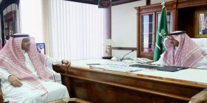زيارة رئيس النادي الأدبي الثقافي بجدة لمساعد رئيس هيئة الإذاعة والتلفزيون لشؤون الإذاعة