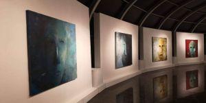 الفنانة ريم الديني تفتتح معرض ترانزيت للفن التشكيلي