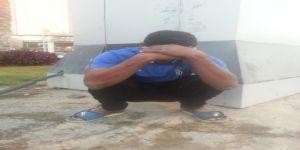 #عاجل بطل وحداوي يفترش حدائق بلديات مكة