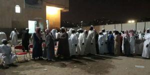 أسرة الفلاتة تستقبل المعزين في عثمان