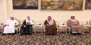 الأمير بدر يعزي أسرة الجعفري الطيار بالاحساء