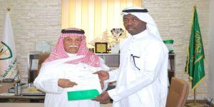 أسرة وحدة مكة تكرم المهندس إبراهيم رمضان