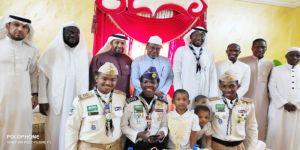 كشافة شباب مكة تحتفي بـ خضر مشرف النشاط الكشفي بتعليم المدينة المنورة