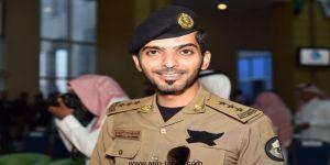 الجميعي يحتفل بنقل إبنه أحمد من شرطة جدة إلى مكة