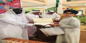 122 طالب تكرمهم مدرسة النجاح بمناسبة تخرجهم