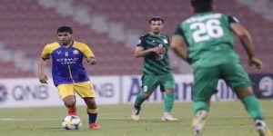النصر يتعادل سلبيًا مع ذوب آهن ويواجه الوحدة الإماراتي بدور الـ16