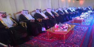 15 شابا وفتاة في حفل زواج جماعي لقبيلة اليمنه من عنزه