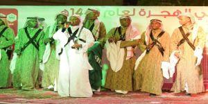 رجل الأعمال بسام وعظ الدين يقيم حفل معايدة لأهالي الهجرة وبطحاء قريش