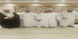 وسط حضور غفير الزميل الرحيلي يحتفل بزواج نجله خالد