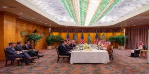 البيت الأبيض: ولي العهد وترامب تعهدا بحماية سوق النفط من إرهاب إيران
