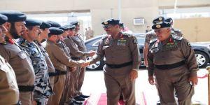 بهدف تنظيم الأداء مدير الامن العام يزور مديرية شرطة منطقة مكة ويدشن مكتب علاقات الجمهور