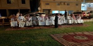 إعلاميون ورجال تعليم يواسون أسرة أبو سليمان
