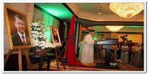 السفارة المغربية بالاردن تحتفل بذكرى جلوس الملك محمد السادس