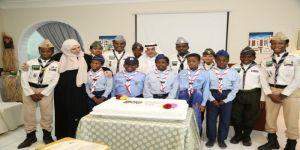 مؤسسة أفريقيا تكرم اشبال كشافة شباب مكة