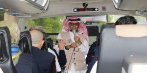 رواد إعلامية العرب يتجولون على المسار التاريخي في مكة رفق المبدع بخش