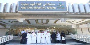 الجمعية السعودية للسلامة المرورية سلامة .. تزور مصابي الحوادث المرورية بمستشفى الملك فهد بجدة