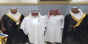 الراشدي يزف الدكتوران محمد و على