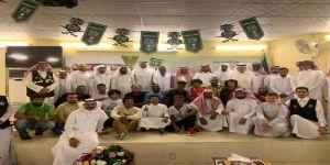 فريق بصمة التطوعي يحتفل بتكريم ووداع احد رواده