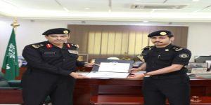 معالي مدير الأمن العام يكرم عدداً من أسود الإداره العامه لدوريات الأمن