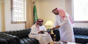 الأمير سلطان بن أحمد يباشر مهام عمله في سفارة المملكة لدى البحرين ويتفقد أقسام السفارة