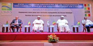 بدء أعمال القمة الـ 18 لرؤساء الدول الأعضاء في منظمة استثمار نهر السينغال