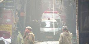 مصرع 35 شخصًا بحريق مصنع في نيودلهي