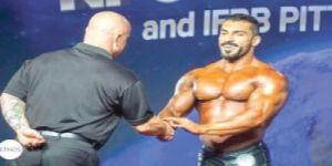 الخلفان يحقق ذهبية العالم لكمال الأجسام للمتتخب السعودي