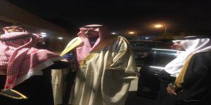 الأمير عبدالإله بن عبدالرحمن آل سعود يعزي أسرة الدبل