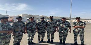 مساعد قائد قوات رئاسة امن الدولة  بمحافظة جدة يقلد عدداً من الافراد لرتبهم الجديدة