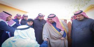 نائب أمير الجوف يعزي أسرة الجريد