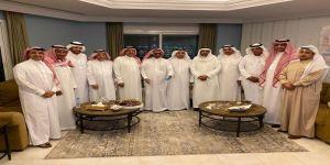 ملتقى اصدقاء الشريف الراجحي في ضيافة  الدكتور عبدالرحمن آل مفرح وأُمسية تاريخية مميزة