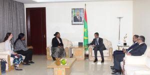 رئيس الوزراء الموريتاني يلتقي وفدا من الأمانة العامة الدولية لمبادرة الشفافية