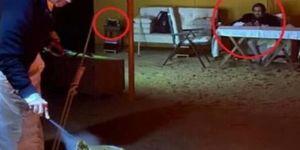 صورة عفوية تفضح زجاجة ويسكي أمير قطر السابق ووزير خارجيتة بن جاسم